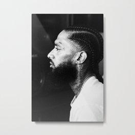 Nipsey Hussle Hiphop Rapper03 Metal Print