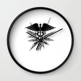 Medical cannabis Wall Clock