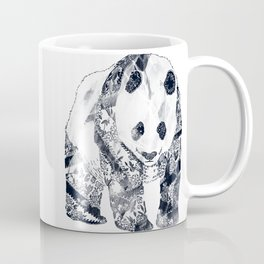 Tattooed Panda {cream} Coffee Mug