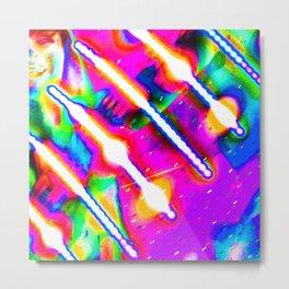 Flow Arts Experiments 11 Metal Print