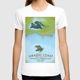 Jurassic Coast Southern England. T-shirt
