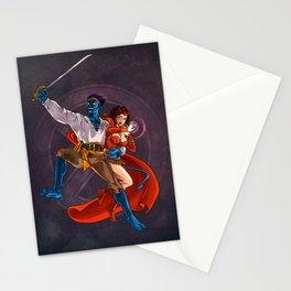 Nightcrawler & Scarlet Witch Stationery Cards