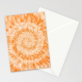 Tie Dye // Summer Orange Stationery Cards