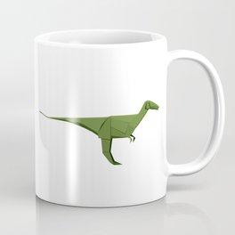 Origami Velociraptor Coffee Mug