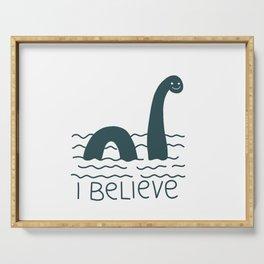 Loch Ness Monster Serving Tray
