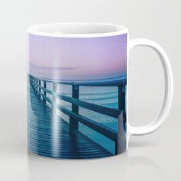 Seebruecke Bridge Zinnowitz Germany Usedom Island Mecklenburg Western Pomerania Ultra HD Coffee Mug