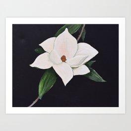 Georgia Magnolia Art Print