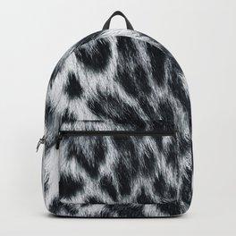 Snow Leopard Skin  Backpack