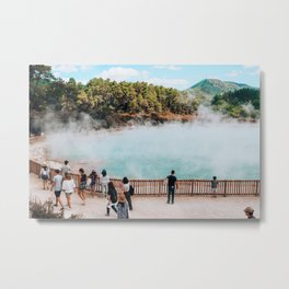 Don't Forget your Thermals | Rotorua, New Zealand Metal Print
