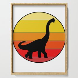 Brachiosaurus Dino Long Neck Dinosaur Serving Tray