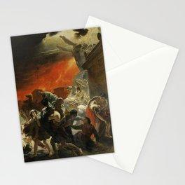 Karl Briullov - Last Day of Pompeii Stationery Cards