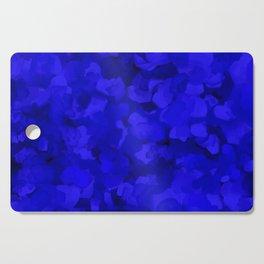 Rich Cobalt Blue Abstract Cutting Board