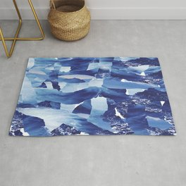 Nautical abstract pattern Rug