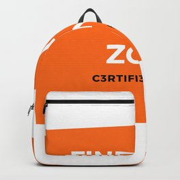 Find your zone motivation Backpack