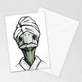 Spa Day Tortoise Stationery Cards