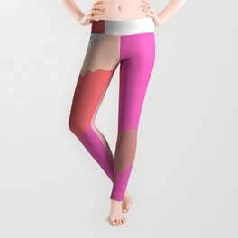 Disconnect an abstract impression Leggings