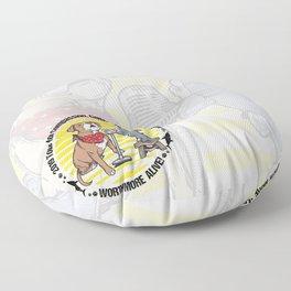 (v1) Worth More Alive! Floor Pillow
