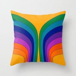 Summertime Wing Throw Pillow
