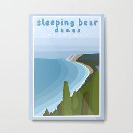 Sleeping bear dunes Michigan  Metal Print