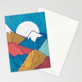 The Crosshatch Sky Stationery Cards