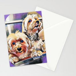 Copper and Penny Bathtime Stationery Cards