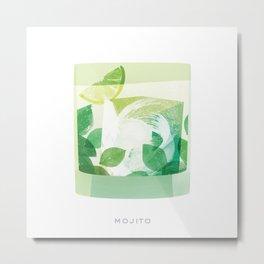 Cocktail Hour: Mojito Metal Print