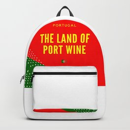 Portugal the Land of Port Wine Backpack