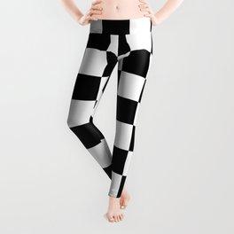 Checkered (Black & White Pattern) Leggings