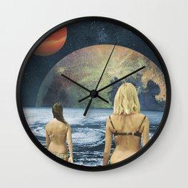 Celestial Bodies Wall Clock