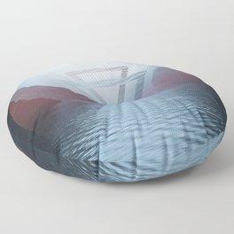 Geometric Milford Sound Floor Pillow