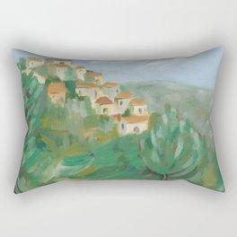 Gordes, France Rectangular Pillow
