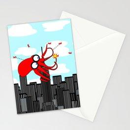 King Kraken Battles over New York Stationery Cards