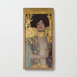 Gustav Klimt - Judith and the Head of Holofernes Metal Print