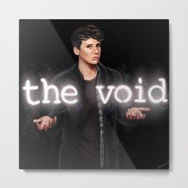 The Void | Daniel Howell Inspired Digital Painting Metal Print