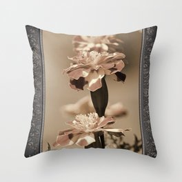 French Marigold named Durango Bolero Throw Pillow