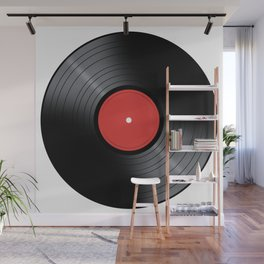 Music Record Wall Mural