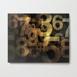 The Winning Numbers Metal Print