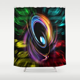Abstract perfection 46 Shower Curtain