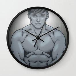 Flexing Wall Clock