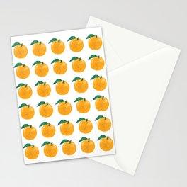 Fruit series Orange fruit Stationery Cards