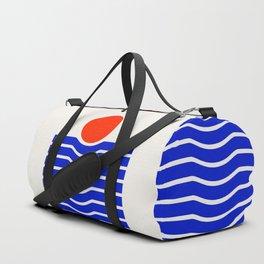 Going down-modern abstract Duffle Bag