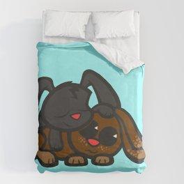 Cuddle Bunnies Duvet Cover
