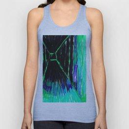 Dark Floors - Turquoise Palette  Unisex Tank Top