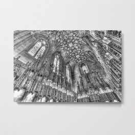 St Giles Cathedral Thistle Chapel Metal Print