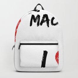 I Love Macramé Backpack