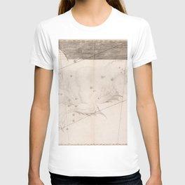 Johann Bayer - Uranometria / Measuring the Heavens (1661) - 32 Cetus / Whale T-shirt