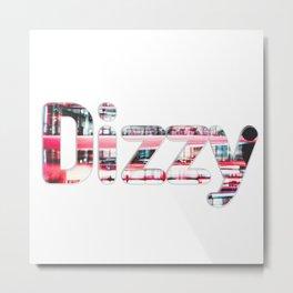 Dizzy Metal Print