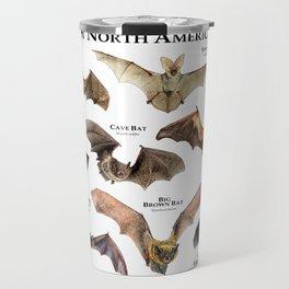 Common North American Bats Travel Mug