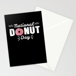 Donut Day Stationery Cards