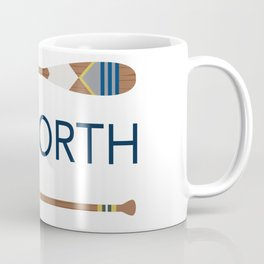 Up North Oars Coffee Mug